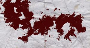 Splatter Art - Blood Red by doncarter25