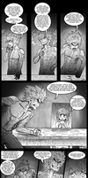 Brothers Antrix vs Princess Chrysanthemum pg01 by Andrimnir
