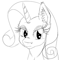 Rarity Portrait by Sintakhra