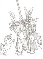 Splendid Armor, Mate! (MLP/Heroes Might and Magic) by Witkacy1994