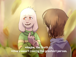 *Chara wasn't really the greatest person. by determined-noob