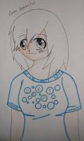 MLP- Derpy Hooves (Anime Human Form) by PencilBeatsPaper