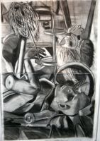 Memory Charcoal by longdesinzzz