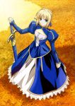 Fate Stay Night - Saber by cacingkk