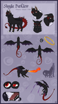 Shaylia Darklaw Official Reference by IridescentMirage