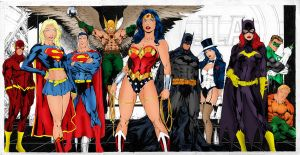Justice League by CassieStorm