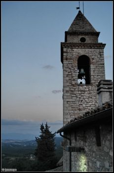 Toscolano - Belltower by Ipnorospo