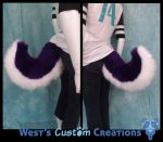 Royal Purple Husky Tail For Sale! by WestWindHowling