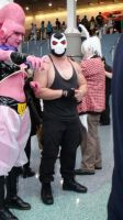 Majin Buu from Dragonball Z and Bane from Batman by trivto