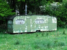 Old Caravan 1 by fuguestock