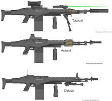 L320 Light Machine Gun variants by Marksman104