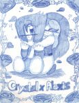 Crystal x Alexis in blue by Milizapiainc
