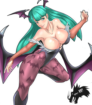 Morrigan_aensland_FanART by DannyART-Z