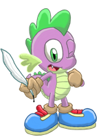 Sonitized Spike by BlehMaster7