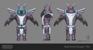 Thor Armor Concept by slipled