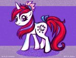 My Little Pony MLP Moondancer FiM style by WolfWhiskers