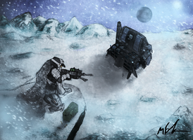 Shrouded=Sniper in the Snow by Mattdude929
