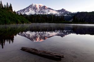 Sunrise at Mt. Rainier by SonjaPhotography