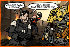 Half-Life 2 Episode One by theEyZmaster