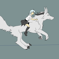 Runimation WIP Aya and Suna by Fly-Sky-High