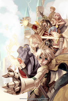 Ragnarok Online Guils War EX promotion by grandyoukan