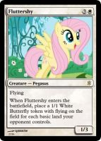 Fluttershy_MTG by cptmiche