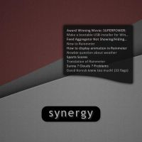 Synergy : RSS 1.0 by redblackproduction