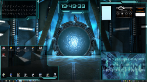 stargate interface desktop by exostyx