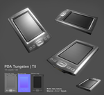 PDA Palm Tungsten T5 by Bula17