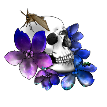 Galactic Peonies by Focail
