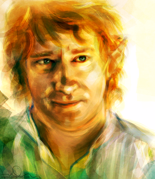 The Hobbit by chanso