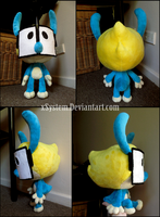 OC Plushie Commission by xBrittneyJane