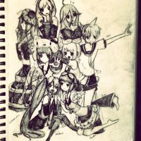 Vocaloids by Niki7ki
