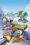 Sonic Universe 34 Cover by herms85
