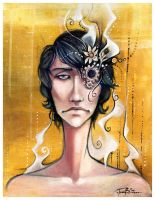 Blind in One Eye by f0xyme