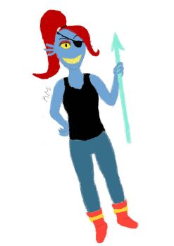 Undyne by icouldntfindaname1