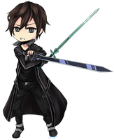 Sword Art Online : Kirito by kukuriXD