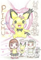 Pichu is always cute^ ^ by PichuYang