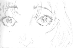 Fray eyes sketch by Puppy2388