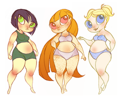 Powerpuff Paper  Dolls-1 by Busterella