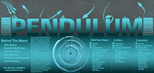 Epic Pendulum website concept. by 666KajiKenji