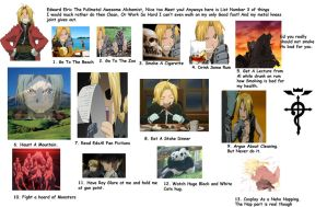 Edward Elric What I'd Rather Do Then Clean Part 3 by DuoSmexyMaxwell
