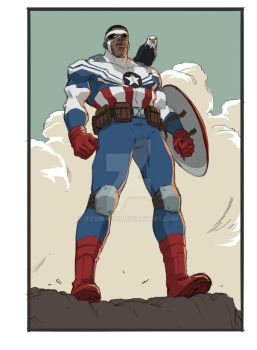 Sam Wilson by ifesinachi