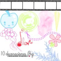 Pack decoraciones Png by NattiiEditions