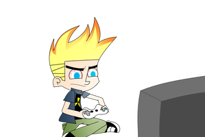 Playing a video game 5 hours by xXBloody-MagicXx