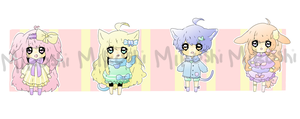 || Adoptable Auction [CLOSED] by Mikoshi-Adopts