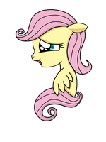 Young Fluttershy by SunTwirler