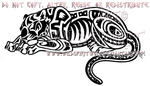 Aztec Sleeping Jaguar Design by WildSpiritWolf