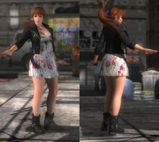 My favorite DOA outfits (Kasumi Casual) by DoAfanboi