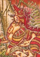 Jungle Exploration ACEO by Redwall151